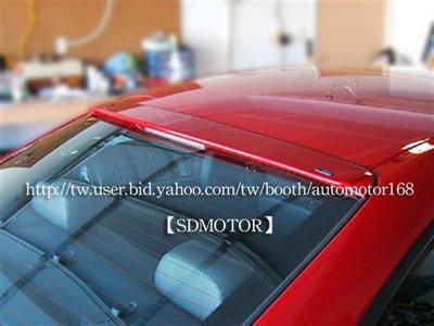 【SD祥登汽車】空力套件 後上遮陽 ABS - 寶馬 BMW E46 2門 316i 318i 320i 323i 325i 330i AC型 非HAMANN