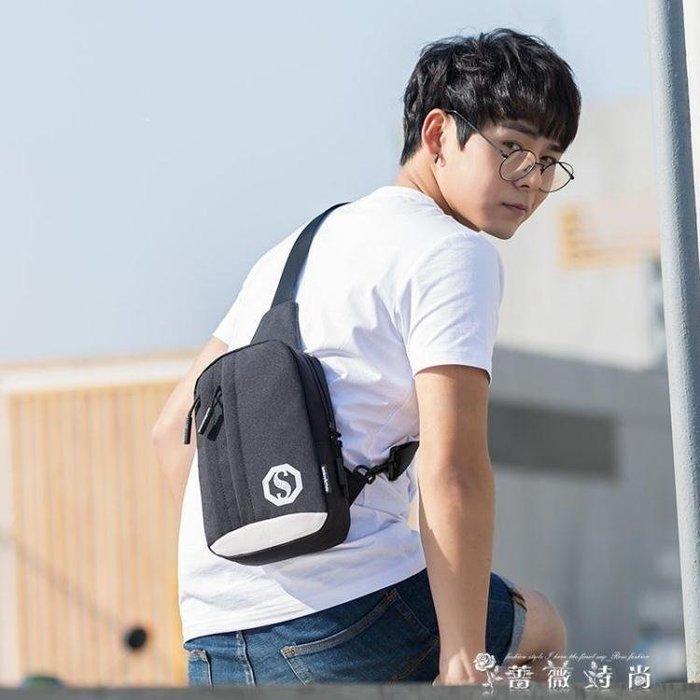 YEAHSHOP 男胸包新款潮帆布胸前包韓版男士Y185