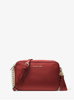 MICHAEL MICHAEL KORSGinny Leather Crossbody BagStyle# 32F7GGNM8L