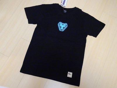 全新正版Marvel公司貨官方IRON MAN鋼鐵人MK50方舟反應爐T-Shirt復仇者聯盟:終局之戰限定T恤材質保證