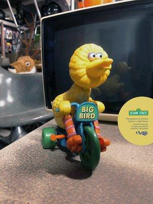 Artlife @ ILLCO Big Bird Trike Bicycle 芝麻街 三輪車 稀有絕版 大鳥姐姐