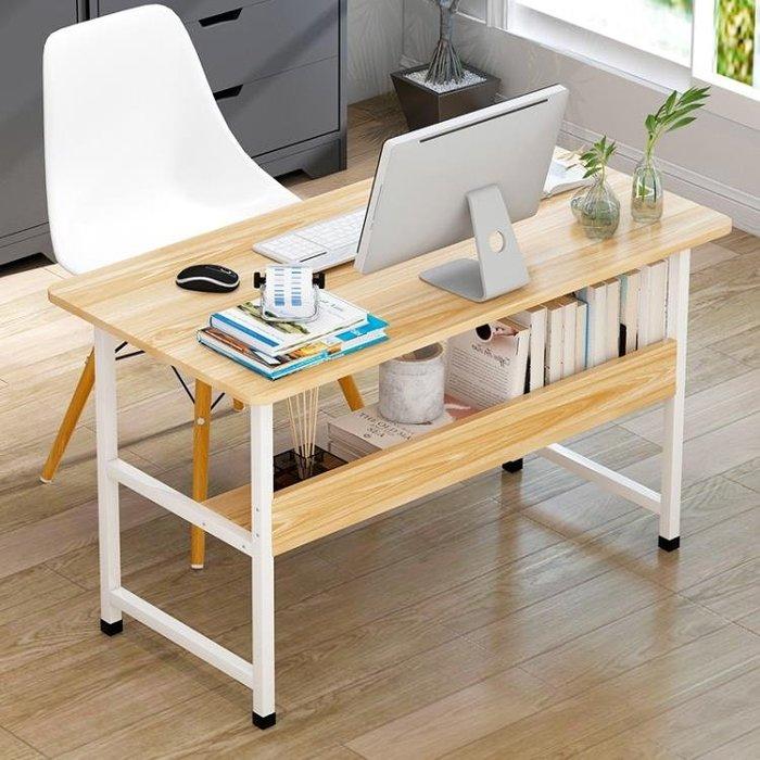 (免運)電腦桌台式家用辦公桌子臥室書桌簡約現代寫字桌學生學習桌經濟型【莉芙小鋪】