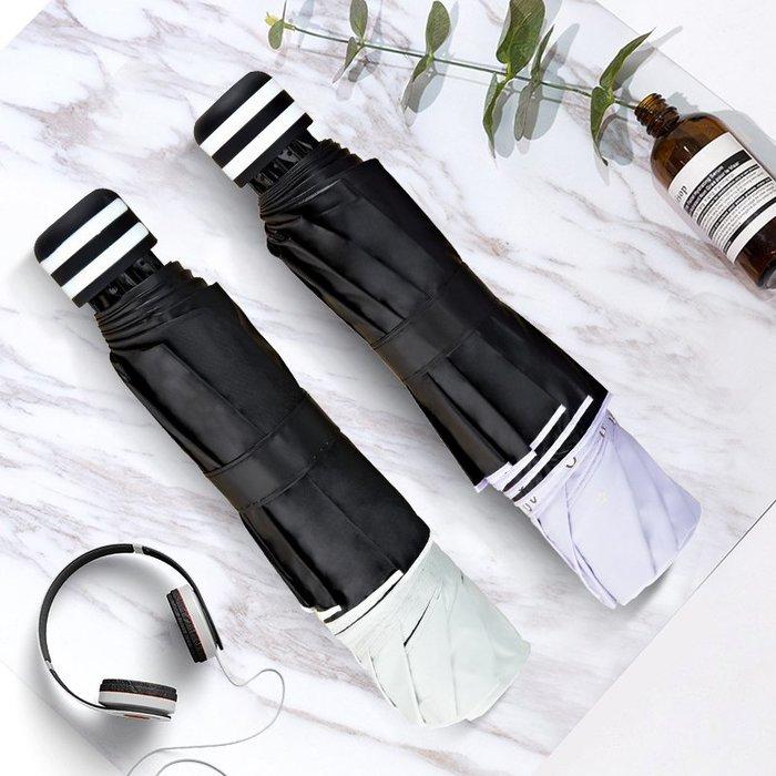 熱賣款--雨傘女晴雨兩用遮陽防曬防紫外線黑膠太陽傘小巧便攜折疊少女可愛#雨傘#遮陽#防雨#折疊自動