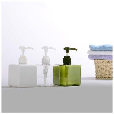 『藝瓶』瓶瓶罐罐 空瓶 空罐 化妝保養品分類瓶 按壓瓶 矩型乳液/壓泵分裝瓶子-正方(小)