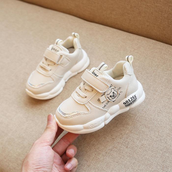 秋季新款寶寶學步鞋女4小童單鞋男嬰兒軟底防滑5寶寶鞋1-3歲2