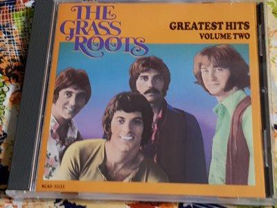 R西洋團(二手CD)THE GRASSROOTS GREATEST HITS~VOLUME TWO~美版~~無IFPI