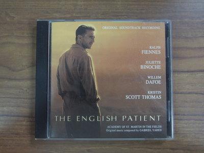 ◎MWM◎【二手CD】The English Patient/英倫情人電影原聲帶 有側標,介紹摺頁
