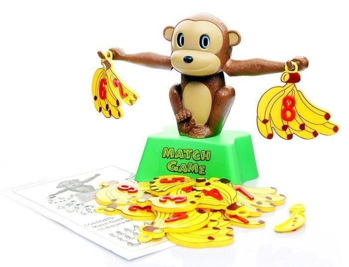 益智桌遊~猴子天平~趣味數字平衡遊戲~數字加減遊戲~早教教具~◎童心玩具1館◎