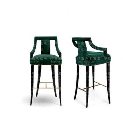 【美麗傢私店】實木吧椅吧臺凳高腳凳KTV酒吧椅美式吧臺椅子前臺椅復古吧凳 吧椅(賣場價格隨便定的 需跟客服確定好價格后購買 則不出貨)
