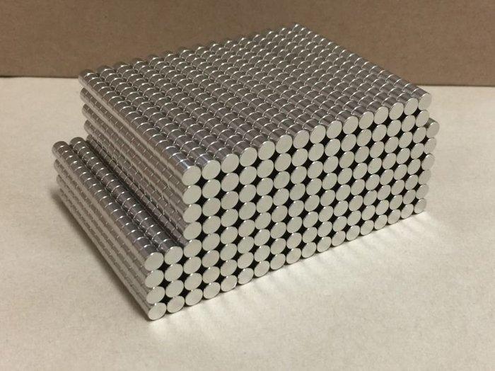強力磁鐵 超強磁鐵 圓形規格6mm*3mm - 結合木盒製作磁吸蓋!