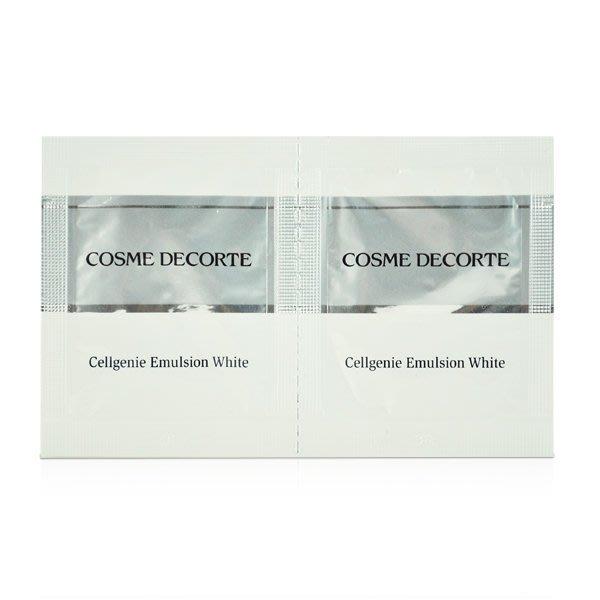 【橘子水】COSME DECORTE 黛珂 時光活氧 淨白光柔膚乳 3mlX2入 (有效期限至2021/04)