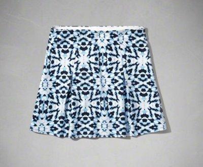 【全新正品】Abercrombie Kids AF Pleat Ponte Skirt 女孩短裙~2色L/XL~大人可
