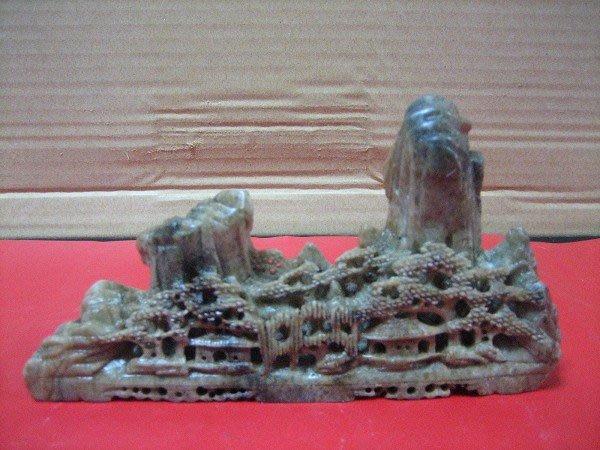 壽山石-早期-山水擺件---