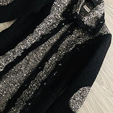 原價四萬多 CLUB VOLTAIRE CV 羊毛拼接針織外套