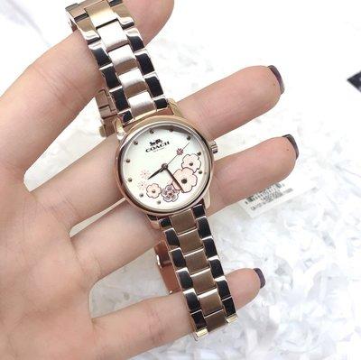 ㊣國際品牌COACH庫㊣ COACH 14503056 14503057【2件免運】新款石英女錶 時尚動人耀眼手錶 腕錶