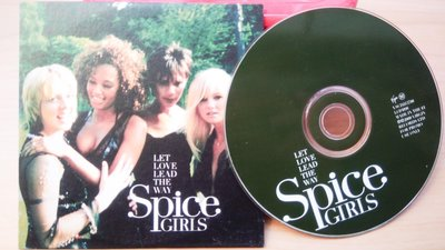 ## 馨香小屋--Spice Girls 辣妹合唱團 單曲CD / Let Love Lead The Way