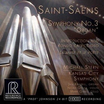 【SACD】聖桑:第三號交響曲「管風琴」/麥可史坦 Michael Stern---RR136SACD