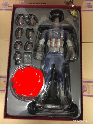 Hottoys Captain America The Winter Soldier Golden Age Version Hot Toys Ironman