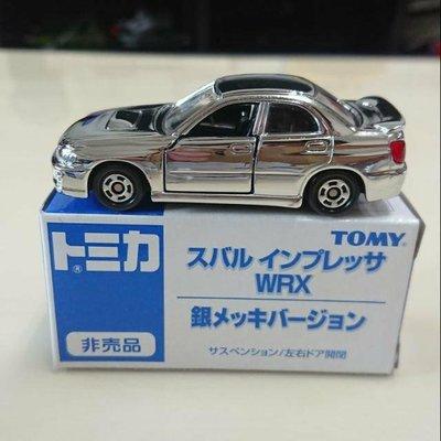 【現貨】Tomica Tomy 舊藍標 非賣品 SUBARU IMPREZA 銀色