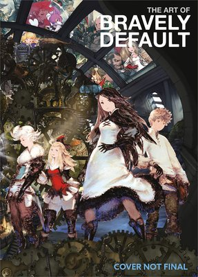【布魯樂】《2月預購_9折》[美版書籍] 角色扮演遊戲《勇氣默示錄 Bravely Default》電玩畫集(英譯)