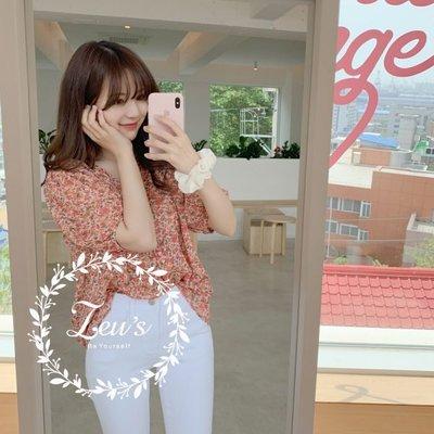 【ZEU'S】夏日薄款碎花襯衫『 06119609 』【現+預】F