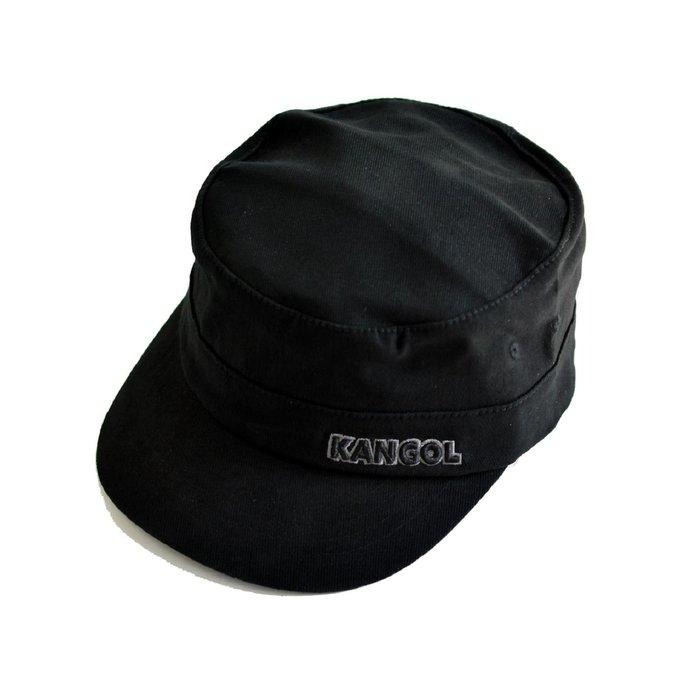 【 Wind 】KANGOL 美線 重磅  ARMY 軍帽 短簷 阿姆 全封 嘻哈 100%正品
