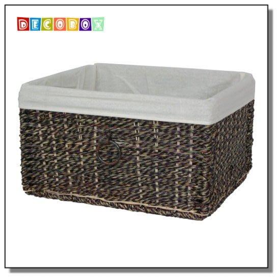 DecoBox海草收納盒( 1 個 )(籃.盒.麵包籃、盆栽籃、餐具籃)