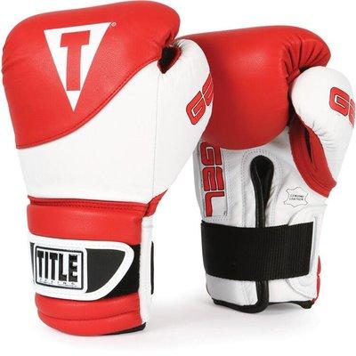 TITLE GEL SUSPENSE TRAINING 凝膠填充拳擊手套 泰拳沙袋拳套3色@03155