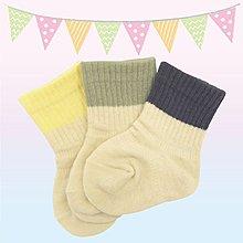 【悅兒園婦幼生活館】Weicker 唯可 日製新生兒短襪3入組(米色)