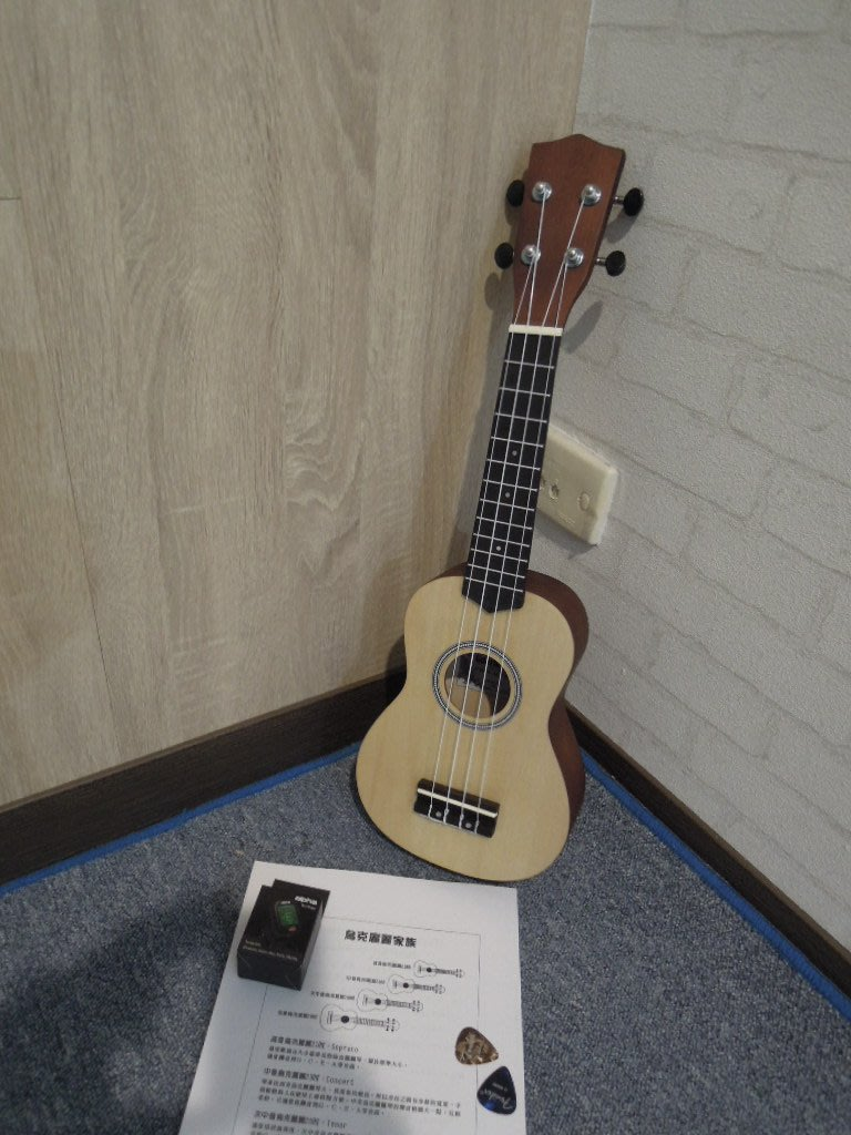 台南樂器烏克麗麗 2019新款式 手工弦原木款 送 PICK 樂譜 教材 調音器