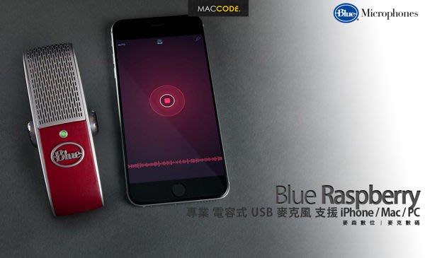 Blue Raspberry 專業 電容式 USB 麥克風 支援 iPhone / Mac / PC