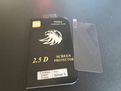 TESSA品牌 iPhone X  美國康寧玻璃貼 (0.1mm )(送德國 CeNano 納米鍍膜一次)