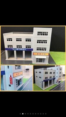場景 N規 1:150比例,場景拼裝建築模型 台北轉運站 醫院大樓 現貨