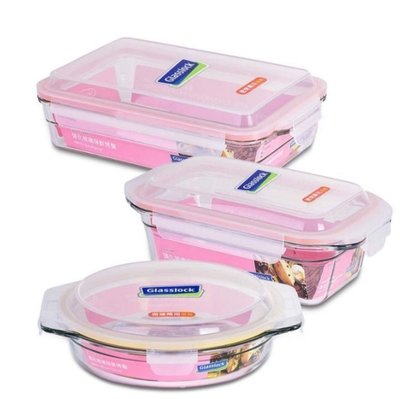 【小如的店】COSTCO好市多代購~Glasslock 玻璃烤盤(含蓋6件組)