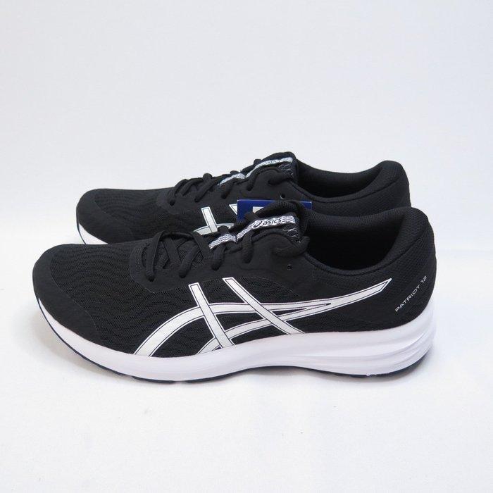 ASICS PATRIOT 12 男款 慢跑鞋 高緩衝 1011A823001 大尺碼 黑【iSport愛運動】