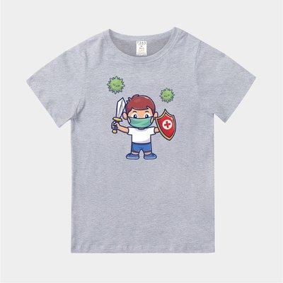 T365 MIT 台灣製造 CORONAVIRUS COVID-19 SHIELD 親子裝 童裝 T恤 T-shirt