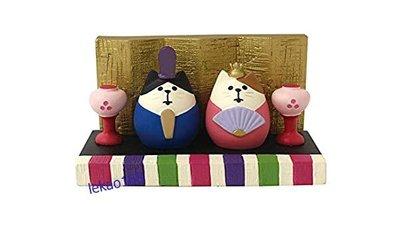 日本Decole concombre 新年快樂賞櫻趣Mini貓雛女兒節組 [新到貨   ]
