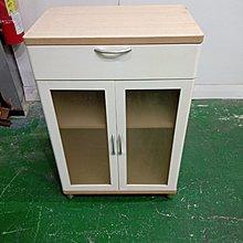 二手家具全省估價(大台北冠均 新五店)二手貨中心--簡約素雅木質收納櫃 置物櫃 櫥櫃 矮櫃 J-0012403