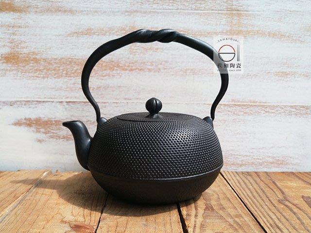 +佐和陶瓷餐具批發+【XL070333-4及甚萬點0.8鐵瓶-日本製】日本製 南部鐵器 鐵壺 水壺 鐵器