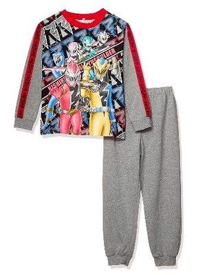 *小栗鼠散步鋪*日本帶回 騎士龍戰隊龍裝者 刷毛款 夜光 長袖T+長褲套裝組 休閒 外出 ~