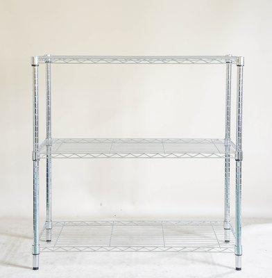 【鐵架工場】s304不銹鋼輕型90*45*高150公分三層架~白鐵架~波浪架~展示架~商品架~浴室架~ 彰化縣