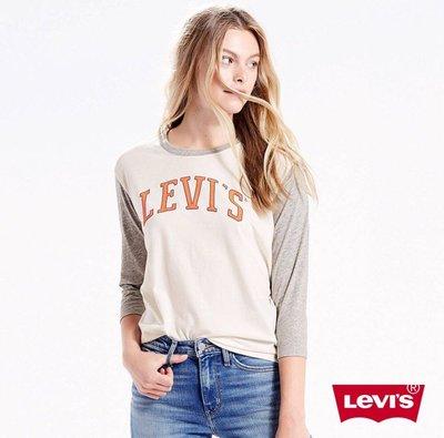 全新真品Levi's雙色拼接上衣 現貨S號