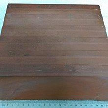 早期紅磚塊.紅磚頭(4)~~紅土製~~空心磚~~長約22.7CM~~懷舊.擺飾.裝飾