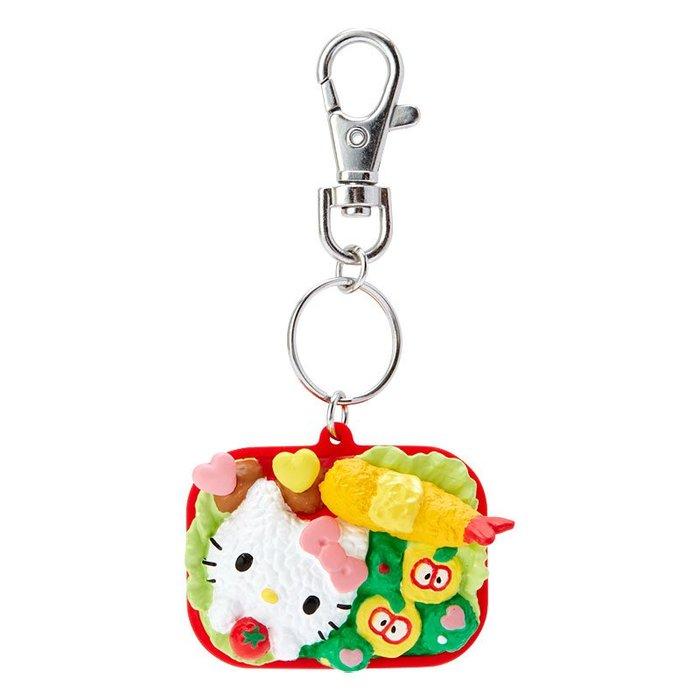 @雪花館@ 代購~正版Hello Kitty ♥ 便當造型鑰匙圈掛飾