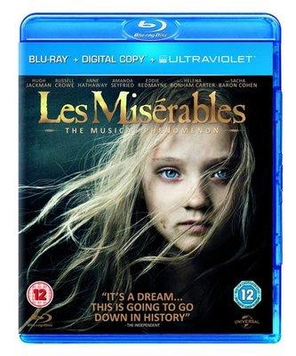 BD 全新英版【悲慘世界】【Les Miserables】Blu-ray 藍光