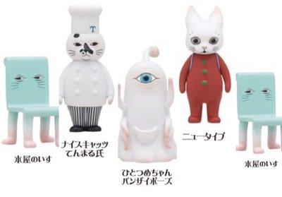 樋口裕子Higuchi Yuko 盒玩 貓咪外星人 第二彈 5隻