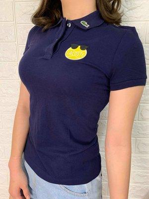 Look 鹿客 LACOSTE鱷魚 女 設計款POLO衫 PF5210-10