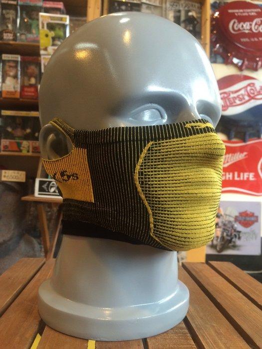 (I LOVE樂多)Naroo Mask黃色短版X5S騎行運動 面罩 單車 哈雷 越野 滑胎 偉士 VESPA Cafe
