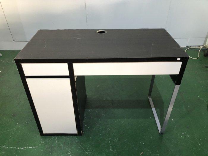 二手家具全省估價(大台北冠均 新五店)二手貨中心--IKEA工作桌 電腦桌 MICKE書桌 D-9060587