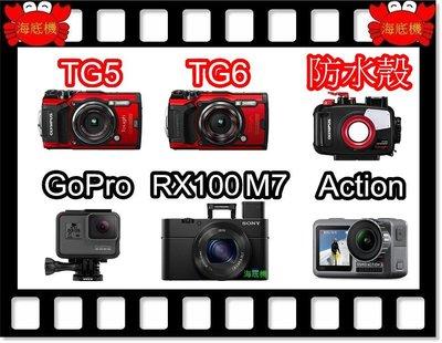 『海底機 折價券』TG6 Gopro hero 8 DJI Osmo Action 防水相機  出租折價券 台北市